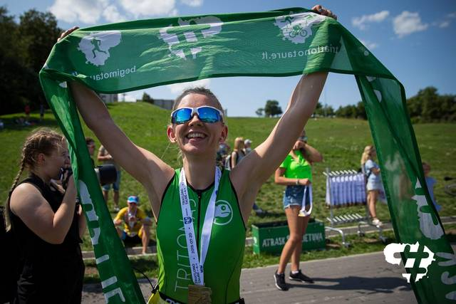 Iš Marijampolės kilusi Rūta Juškevičiūtė dalyvavo ne vienose triatlono varžybose, bet varžybos Frankfurte jai buvo sunkiausios ir suteikusios daugiausia džiaugsmo.