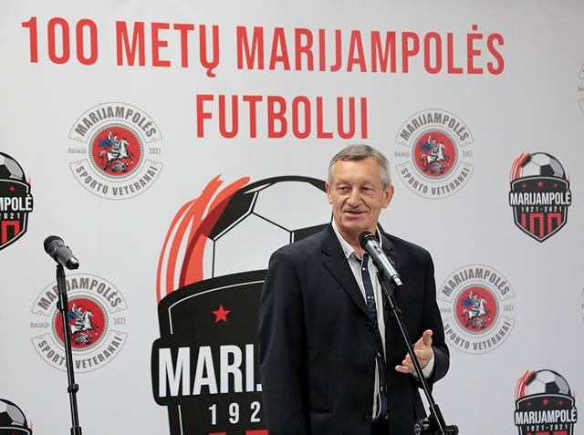 20 metų Marijampolės apskrities futbolo federacijai vadovavo Romas Kukis.