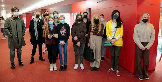 Mokiniai dirbo sudėtingomis karantino sąlygomis.