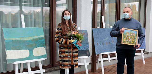 Bendrą savo parodą surengė tapytoja I. Siaurusevičiūtė ir fotografas A. Starkauskas.